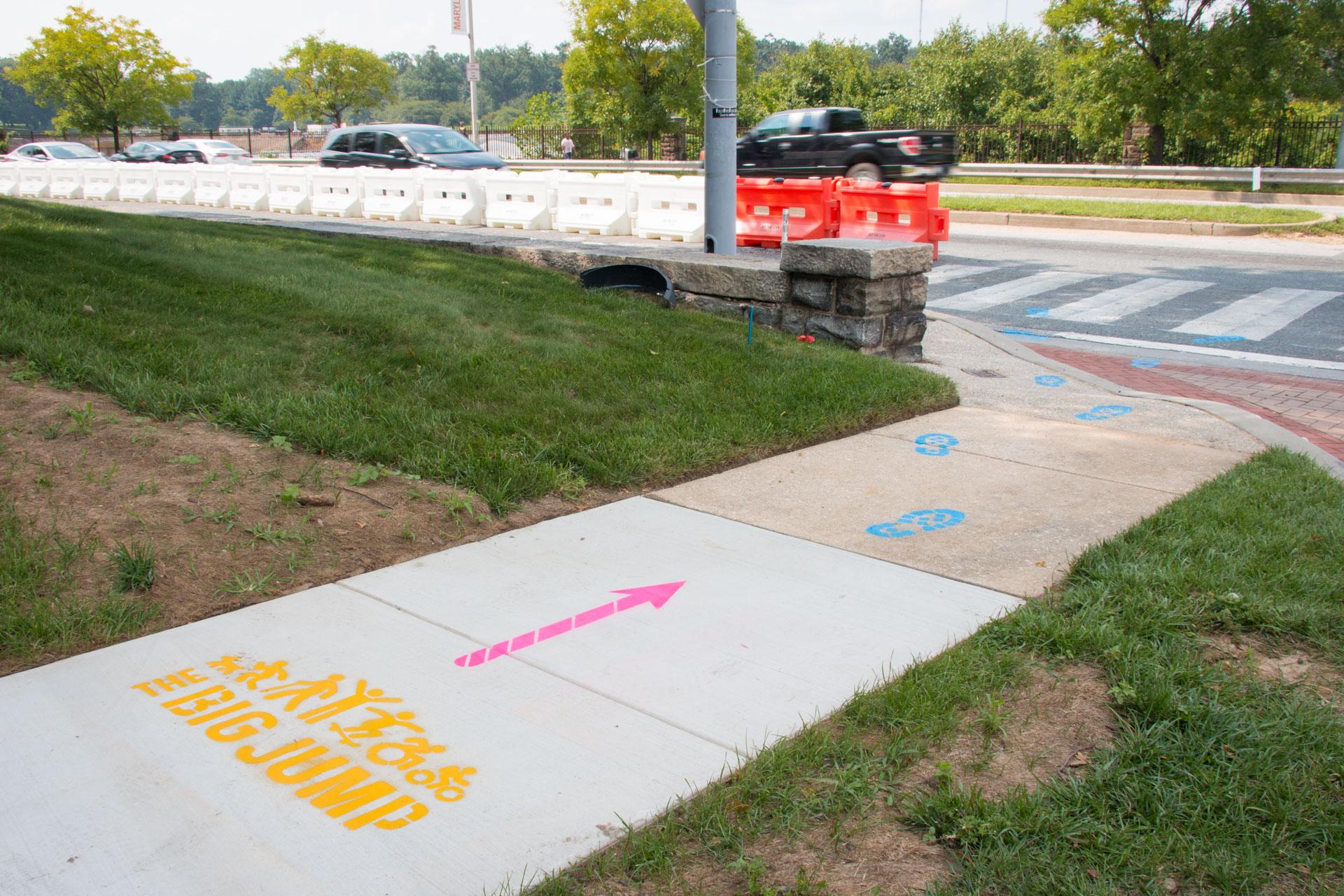 Big Jump Baltimore Wayfinding - neighborhood direction