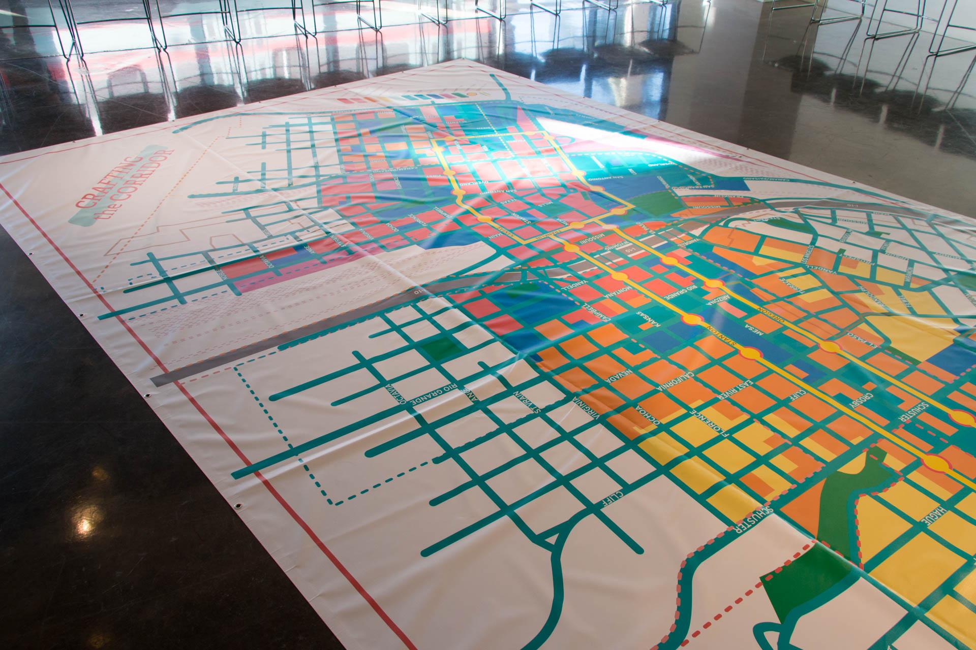 El Paso Crafting the Corridor Map