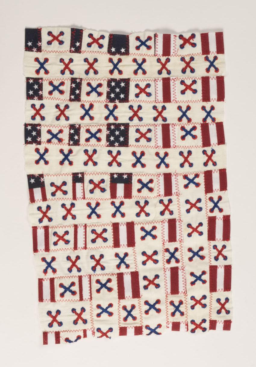 Enlarged flag
