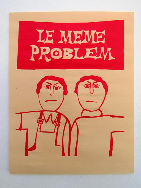 RL Tillman, Meme Problem/Le Même Problème