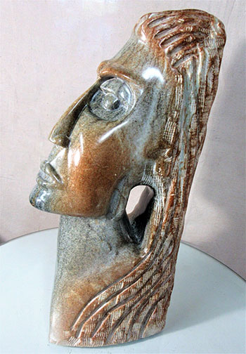 Crying Goddess by sculptor Alan Rhody