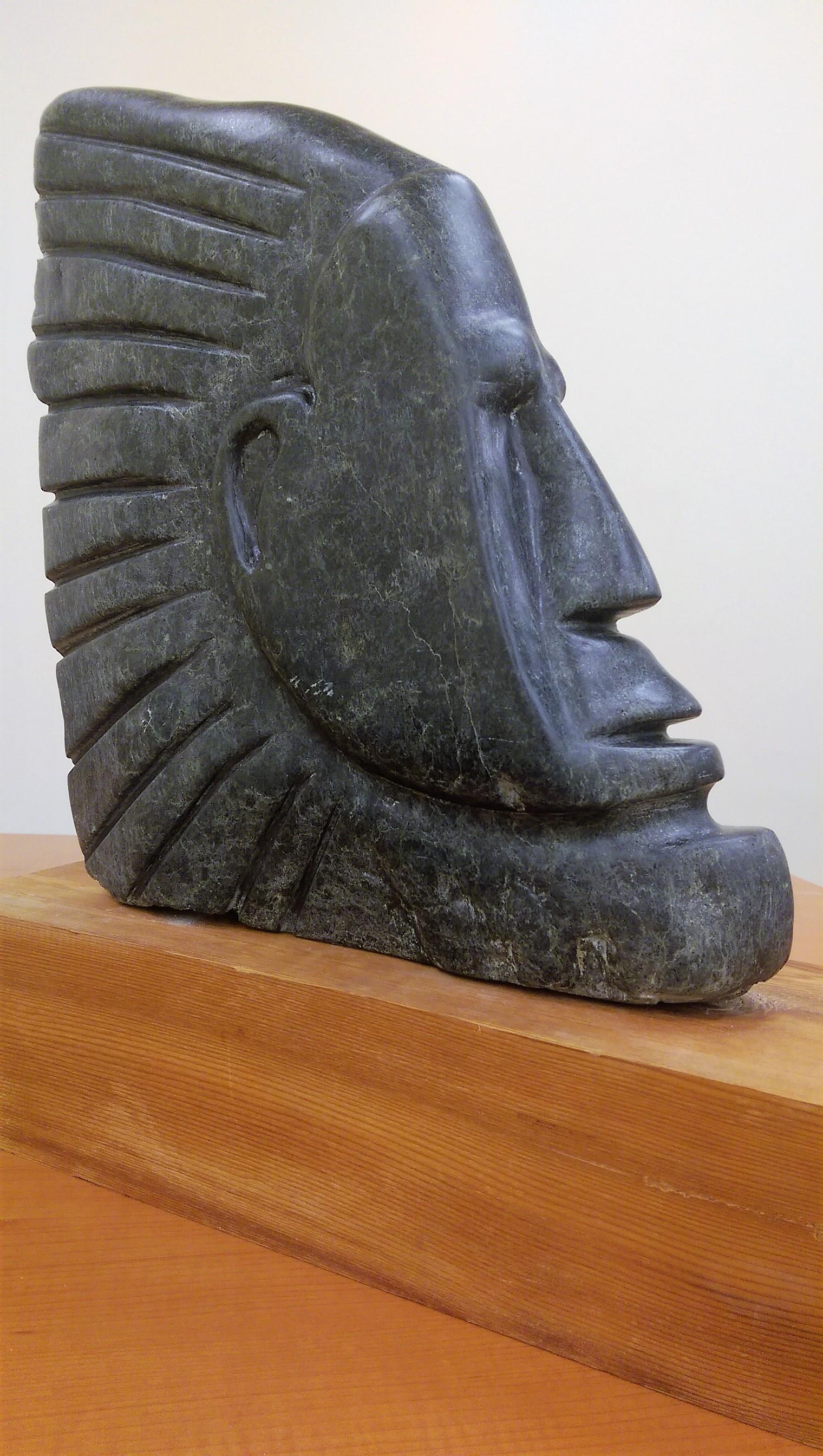 Soapstone sculpture by Alan Rhody