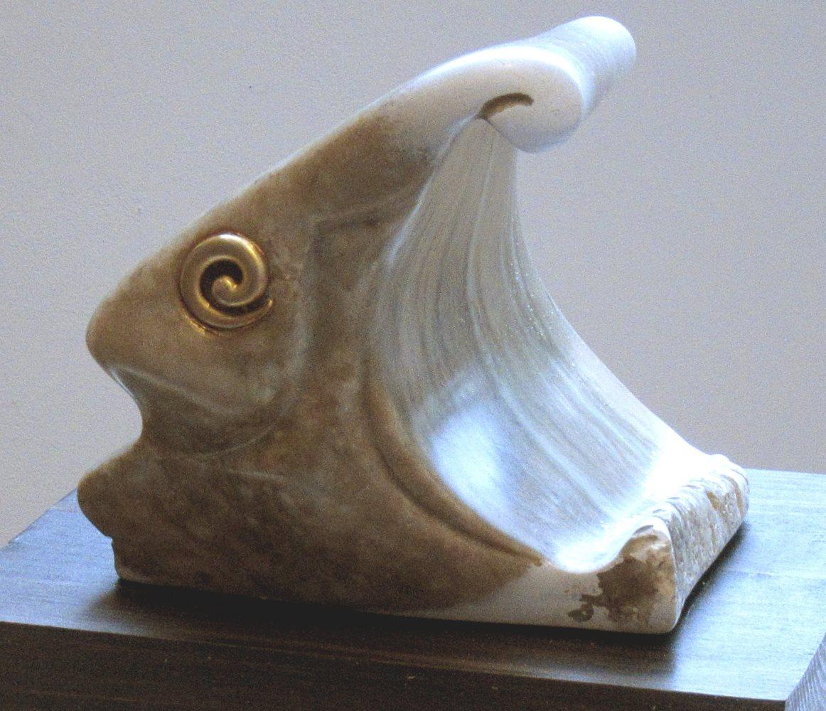 Alabaster sculpture by Alan Rhody