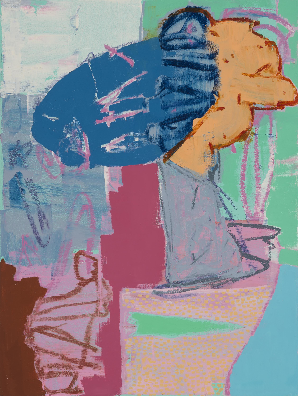 Brainstorm, 2016, Oil On Panel, 24 x 18