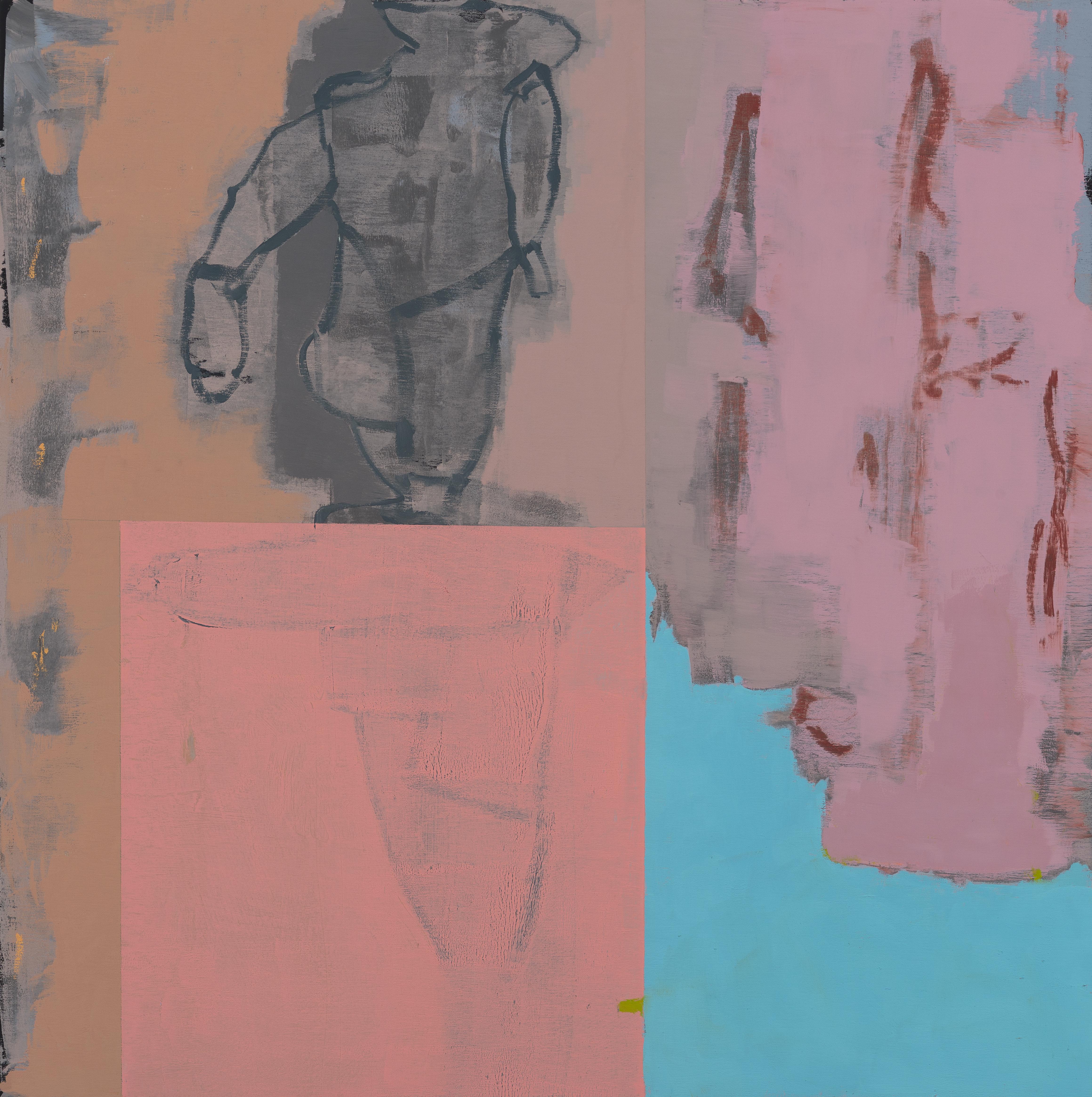 "Untitled 8-21-17 24""x24"" Oil On Panel"