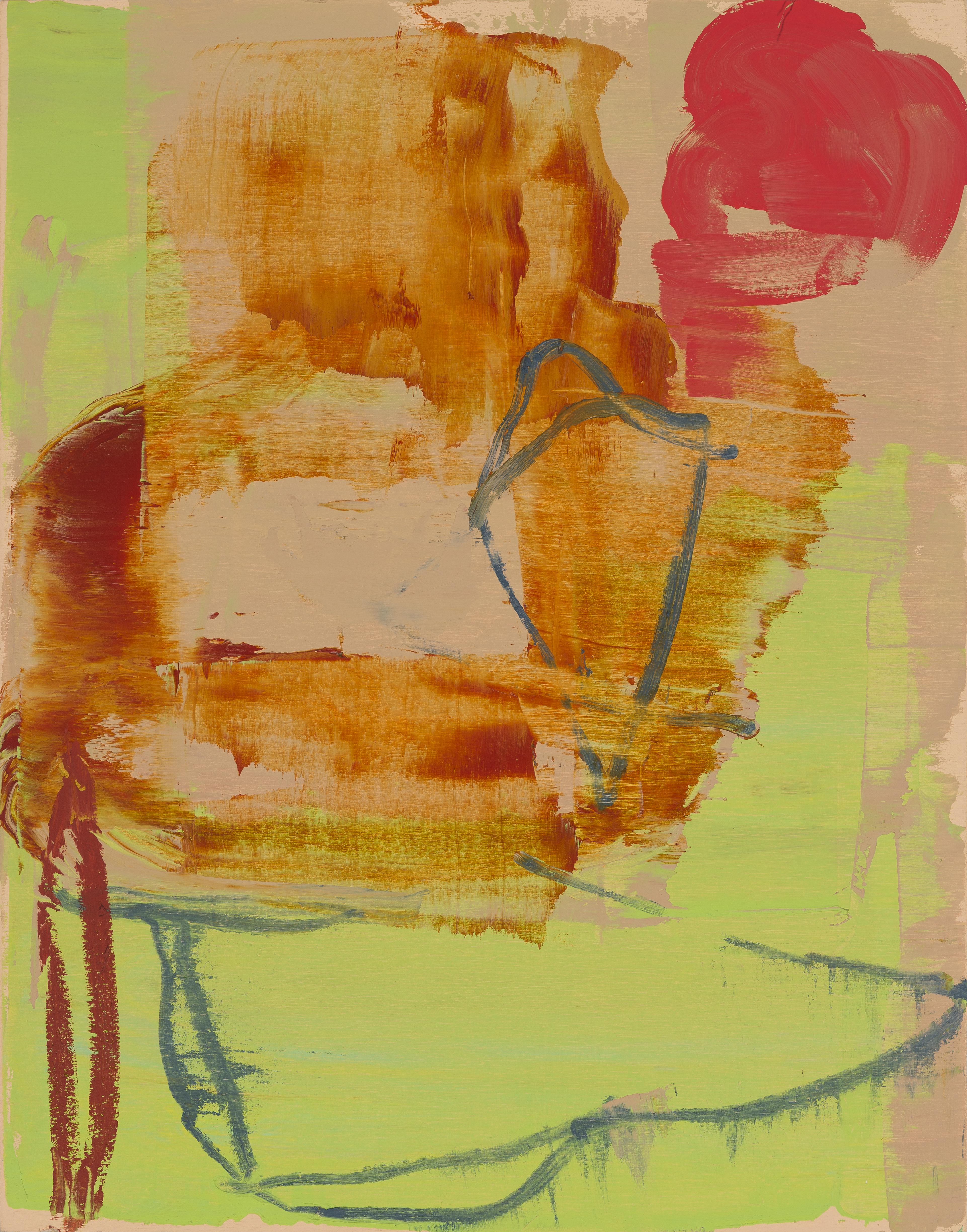 "Untitled 8-5-17 14""x11"" Oil On Panel"