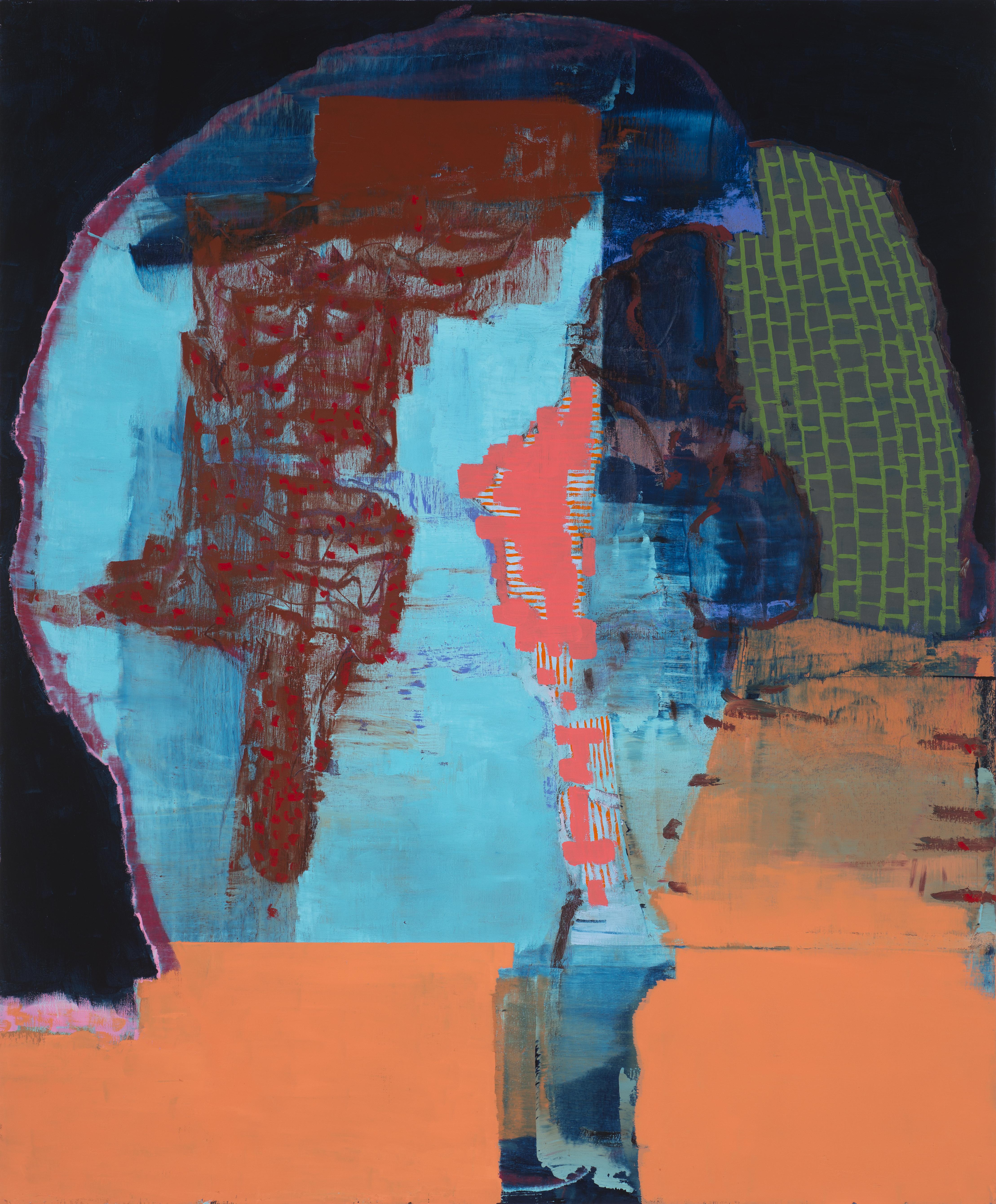 "Untitled 9-26-17 24""x20"" Oil On Panel"