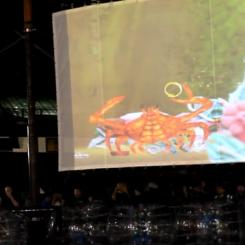 KENDRA's Bay: A Digital Puppet Crab at Light City Baltimore 2016