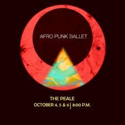 Afro Punk Ballet logo against a black background.