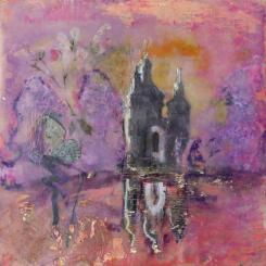lilac,fairy,mtvernonfountain,encaustic