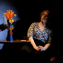 BATS!: Dr. M. asks Genny (Generalized Anxiety Puppet) how anxious she feels
