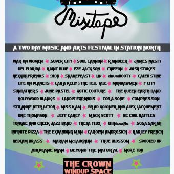 Baltimore Mixtape Festival Poster