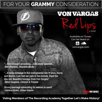 """Grammy Submission for """"Red Lips"""" off Metropolis Binocular"""