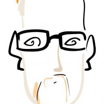 Gregg Wilhelm caricature by Goodloe Byron