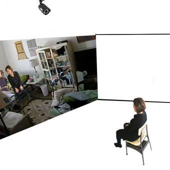 installation, interactive, video, Noelle, Zeltzman, Baltimore, dementia