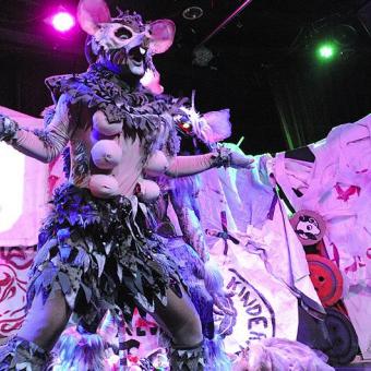 A Rat Costume