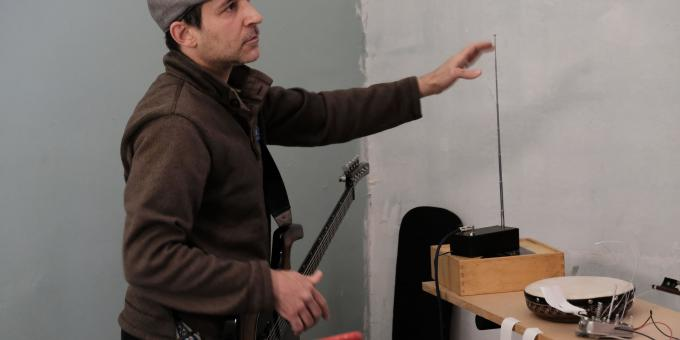 Guitar and Theremin