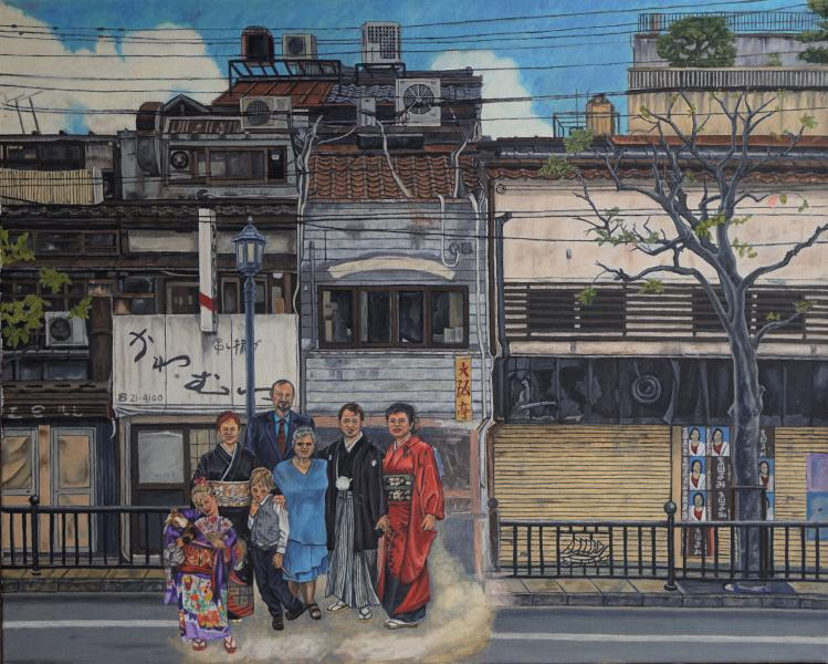 Nagasaki Painitng Family
