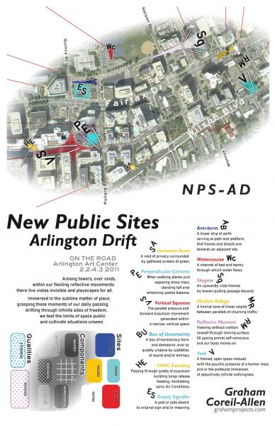 New Public Sites - Arlington Drift Free Map
