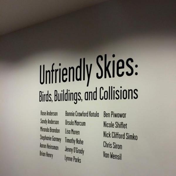 Group Exhibition - Unfriendly Skies: Birds, Buildings and Collisions at Goucher College