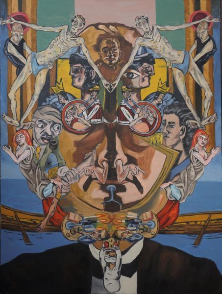 Max Beckman Painting