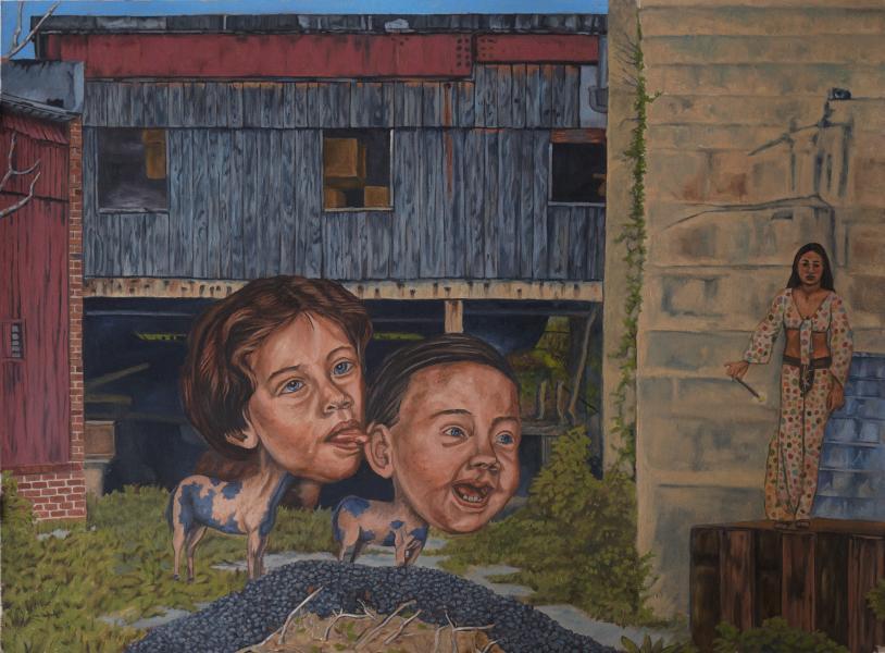 Baltimore City Painting