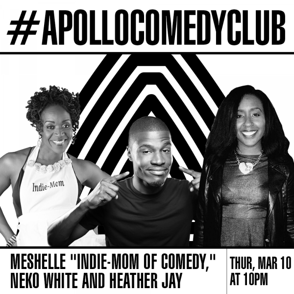 MESHELLE at the APOLLO