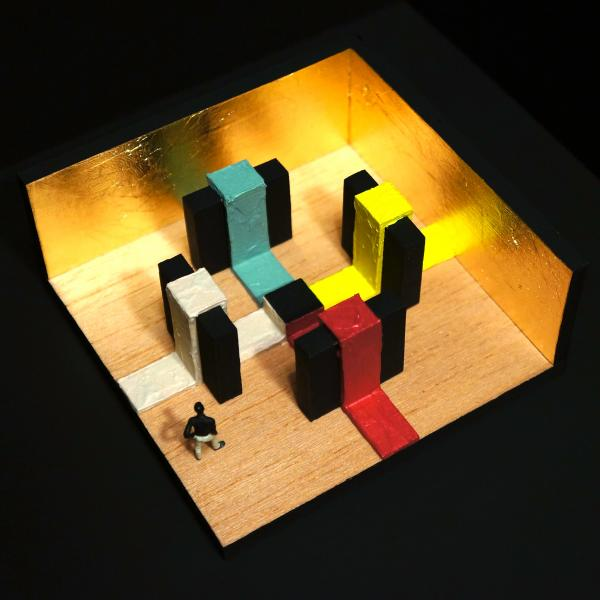 Installation Model - Imagined Space #5