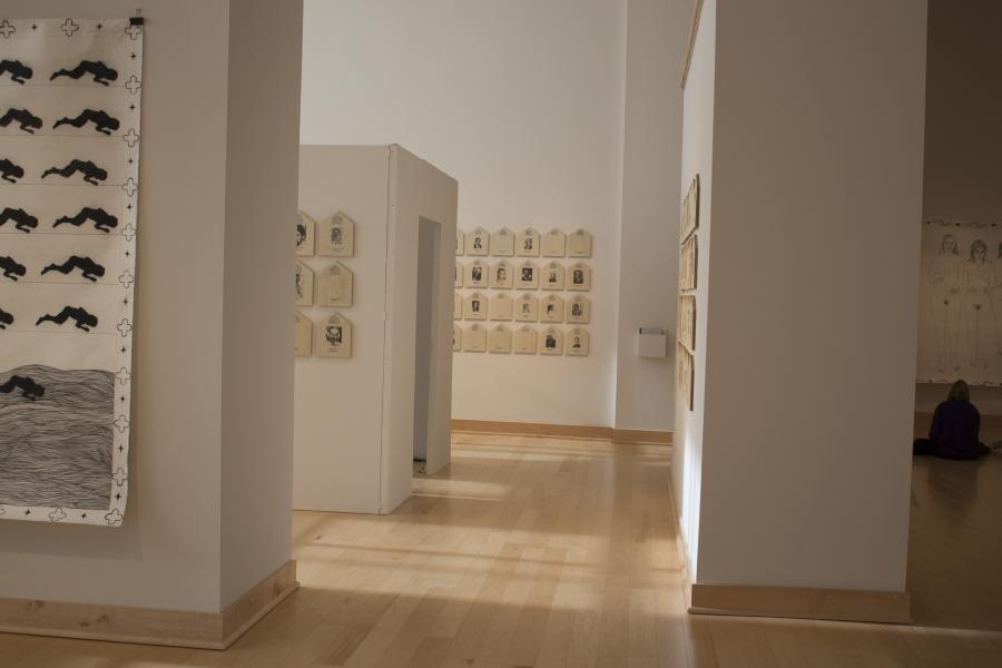 A Tribute Installation View