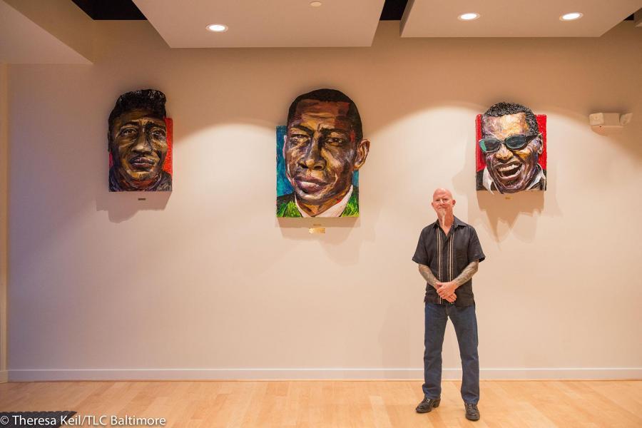 Brett Stuart Wilson in WTMD Studio