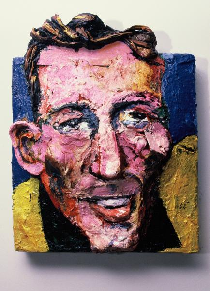 Built-Out Portrait of Carl Pekins by Artist Brett Stuart Wilson