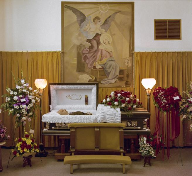 Funeral home, Della Noce,Little Italy, Baltimore