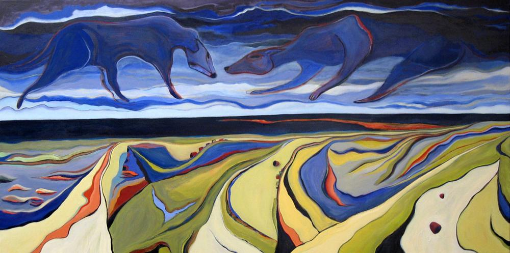 Mathias - Dog Sky Over Dunes