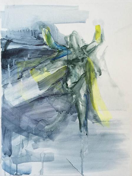 Dr. Fate, superhero painting
