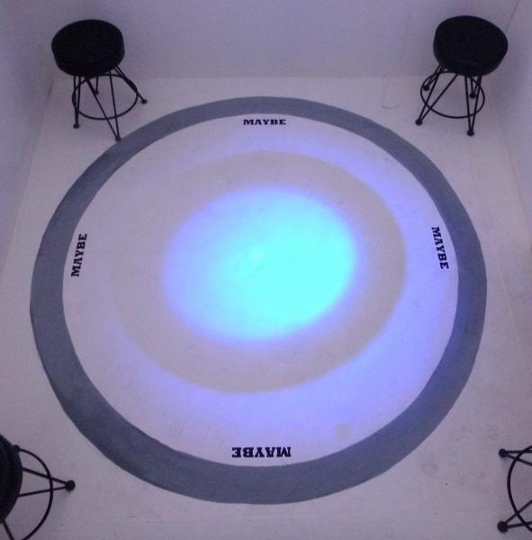installation, sculpture, water, light, sound