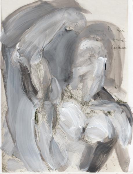 Hercules, mythology painting