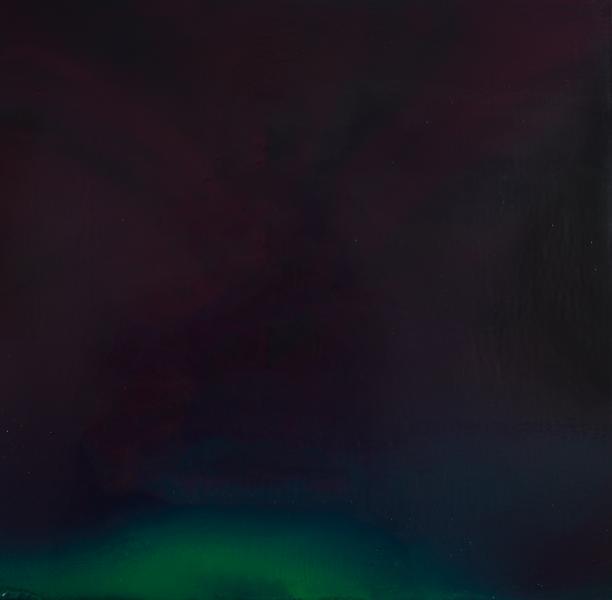 #oilpainting,#auroras,#fourseasons,#solarflares