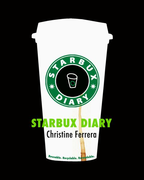 Starbux Diary Book Cover