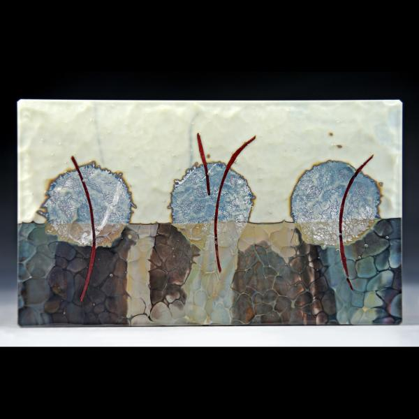 growth, kilnformed glass artwork by Ursula Marcum
