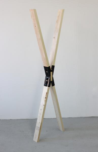 Holding This Moment | Pine and Sawhorse Brackets | 6' x 2' x 4"
