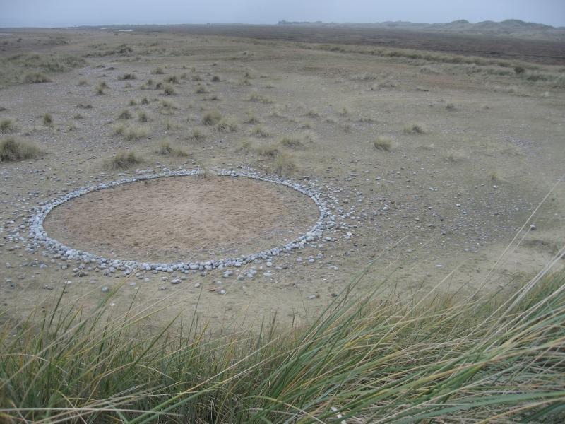 stone circles, flint