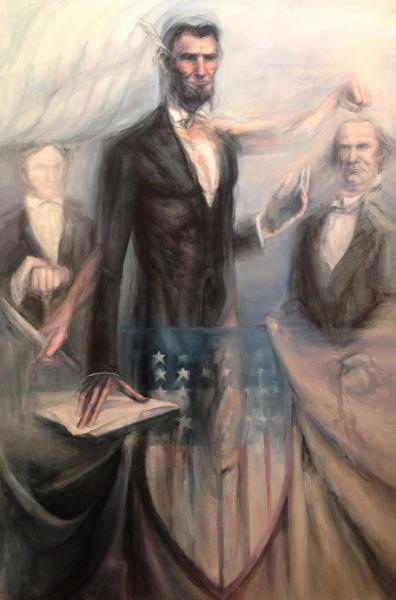 Abraham Lincoln, history painting