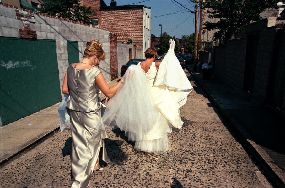 Little Italy, Baltimore, St. Leo's Church, wedding