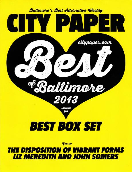 Best Box Set: The Disposition Of Vibrant Forms, Liz Meredith & John Somers