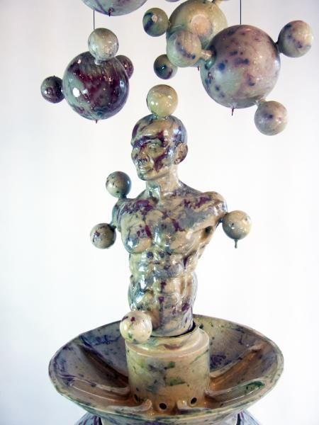 sculpture, ceramic, environment, science