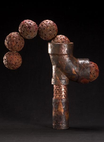 """Washington , D.C.  plaited copper  18"""" x15"""""""