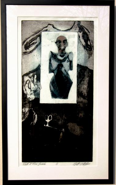 Etching, Aquatint by Brett Stuart Wilson