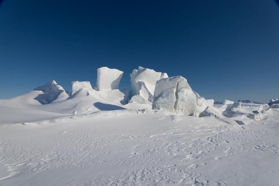 Scott Base Pressure Ridge, Source Photo
