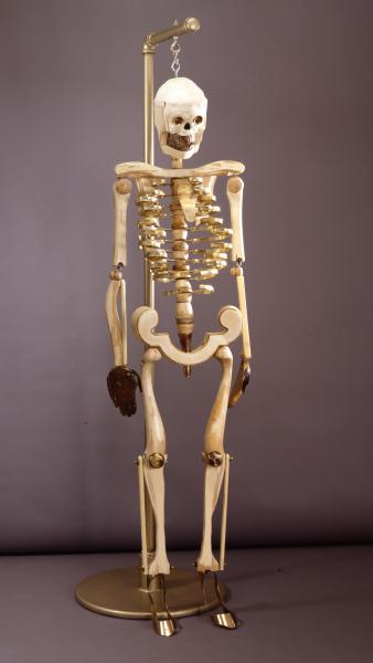 Blonde Skeleton