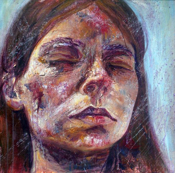 Painted Self-Portrait